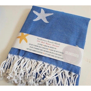 Starfish Pattern Beach Sheet (Hammam Towel)