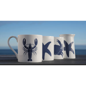 Blue Lobster Mug - Fine Bone China Coastal Design-SeaKisses