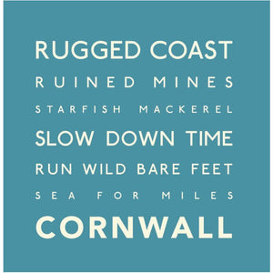 Rugged Coast - Greeting Card