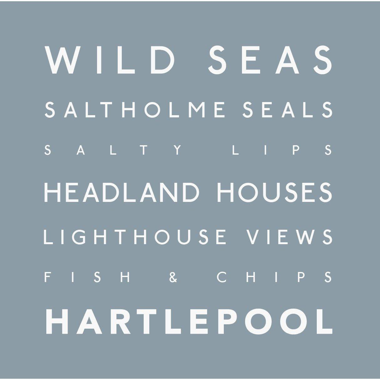 Hartlepool - Greeting Card-SeaKisses
