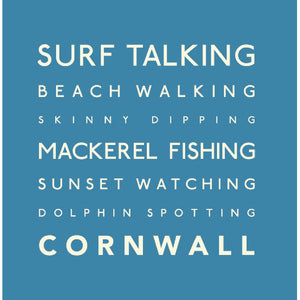Surf Talking - Greeting Card-SeaKisses