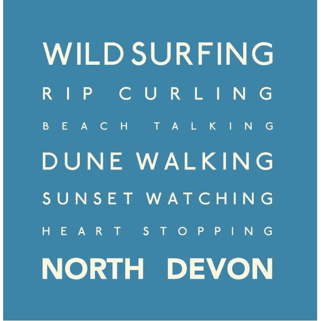 North Devon - Greeting Card-SeaKisses