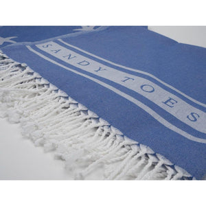 Sandy Toes Beach Sheet (Hammam Towel) - STOCK DUE SOON-SeaKisses