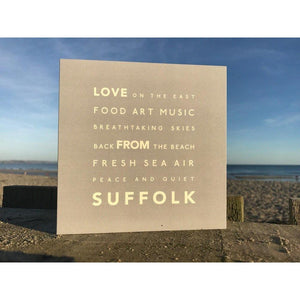 Suffolk - Greeting Card-SeaKisses