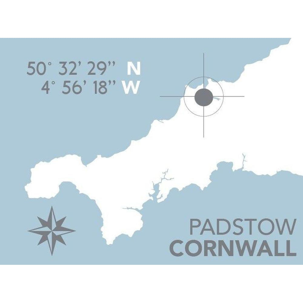 Padstow Nautical Map