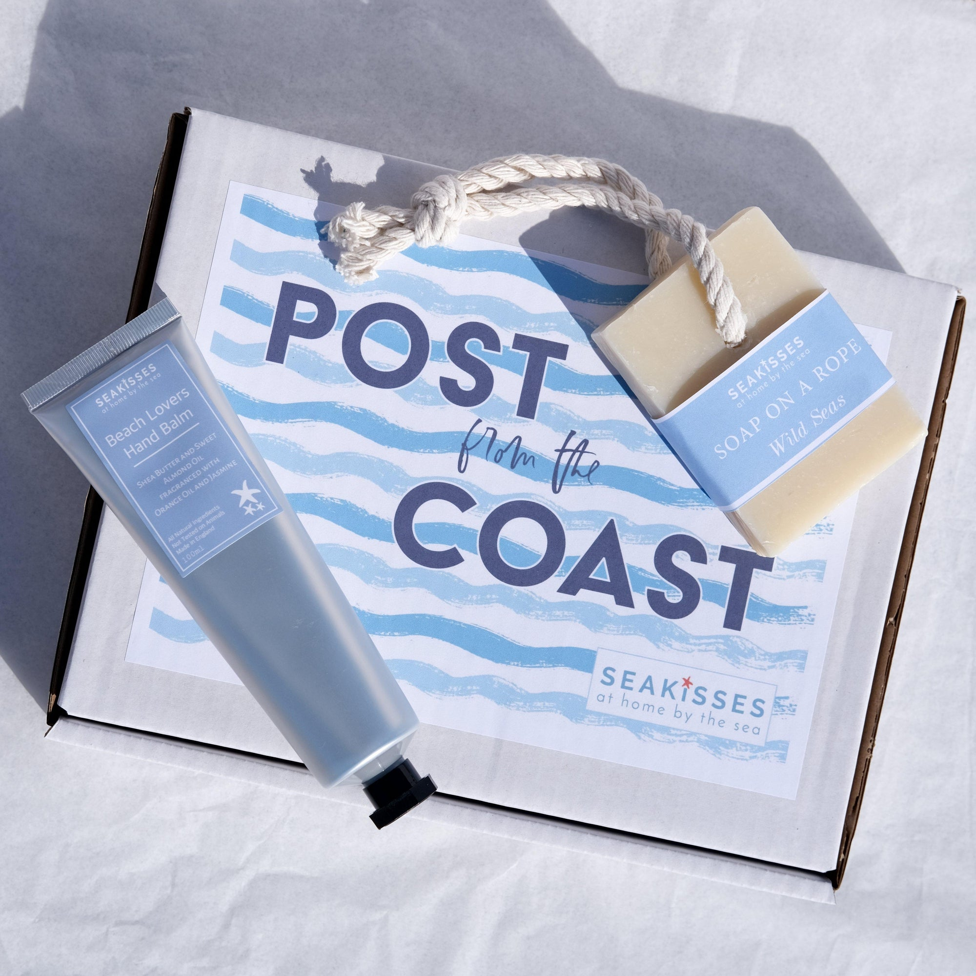 The Beach Walker's Postal Gift Box-SeaKisses