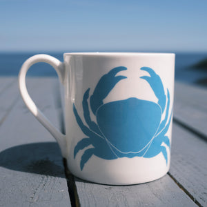 Crab Mug - Fine Bone China Coastal Design-SeaKisses