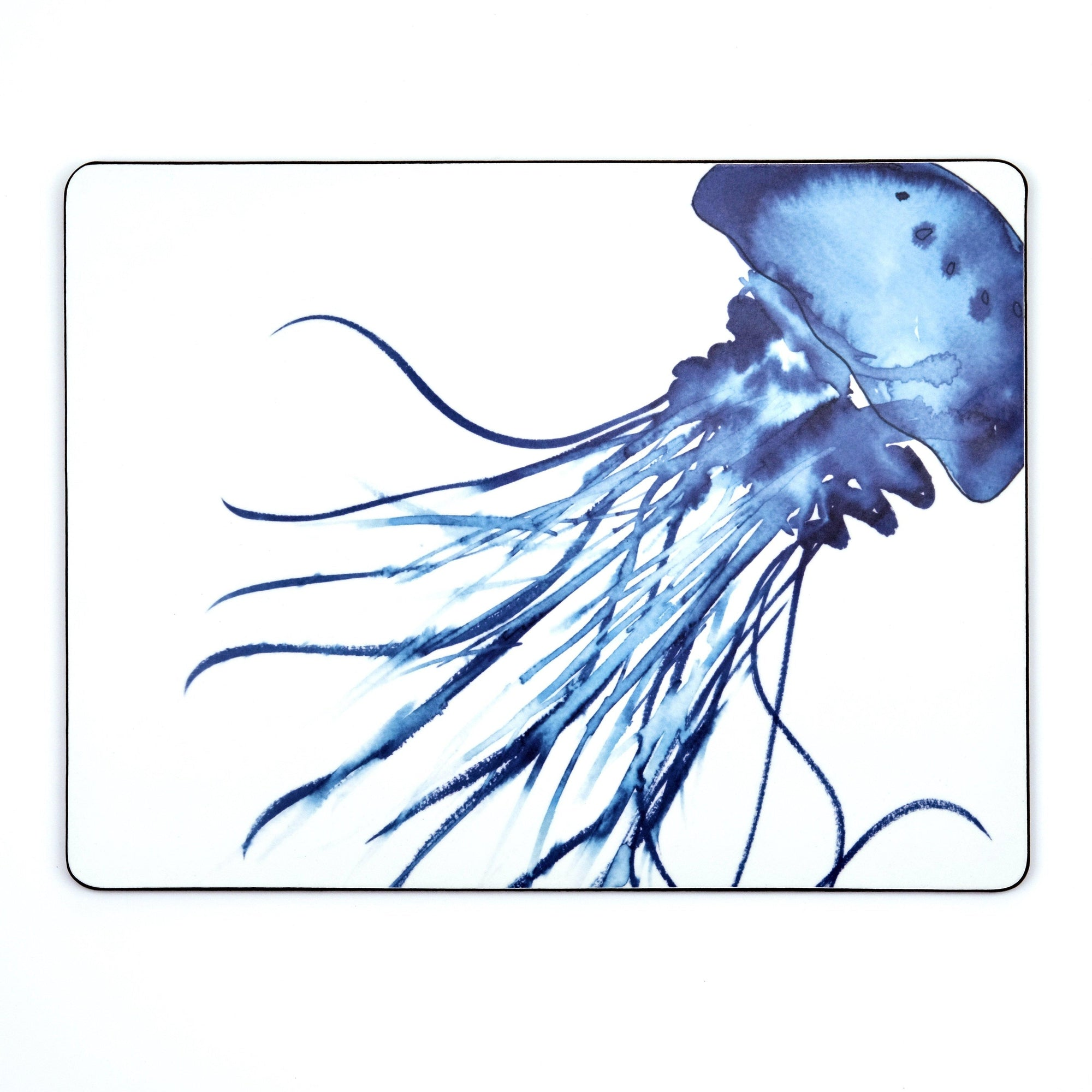 Jellyfish Design Serving Mat - Slight Second-SeaKisses