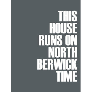 North Berwick Time Print - Coastal Wall Art /Poster-SeaKisses