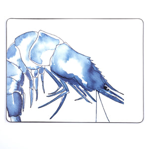 Prawn Design Placemat-SeaKisses