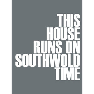 Southwold Time Typographic Seaside Wall Art /Poster-SeaKisses