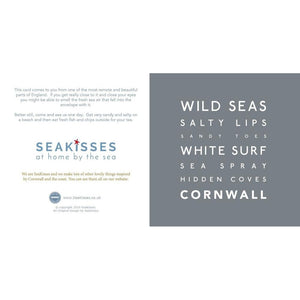 Wild Seas - Greeting Card-SeaKisses