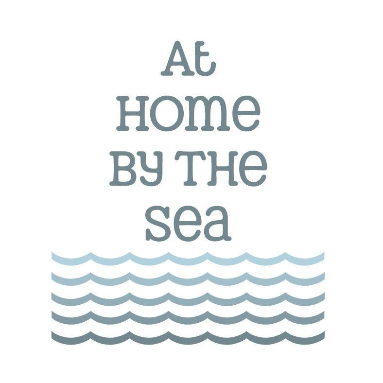 At Home By The Sea - Greeting Card