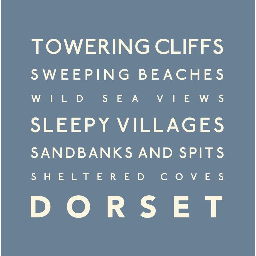 Dorset - Greeting Card-SeaKisses
