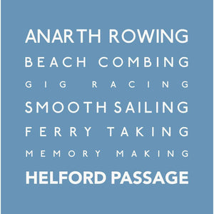 Helford Passage - Greeting Card
