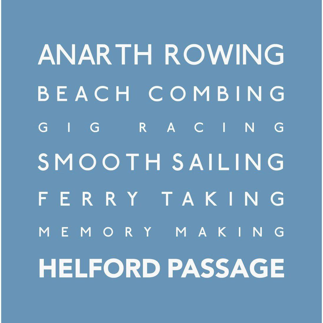 Helford Passage - Greeting Card-SeaKisses