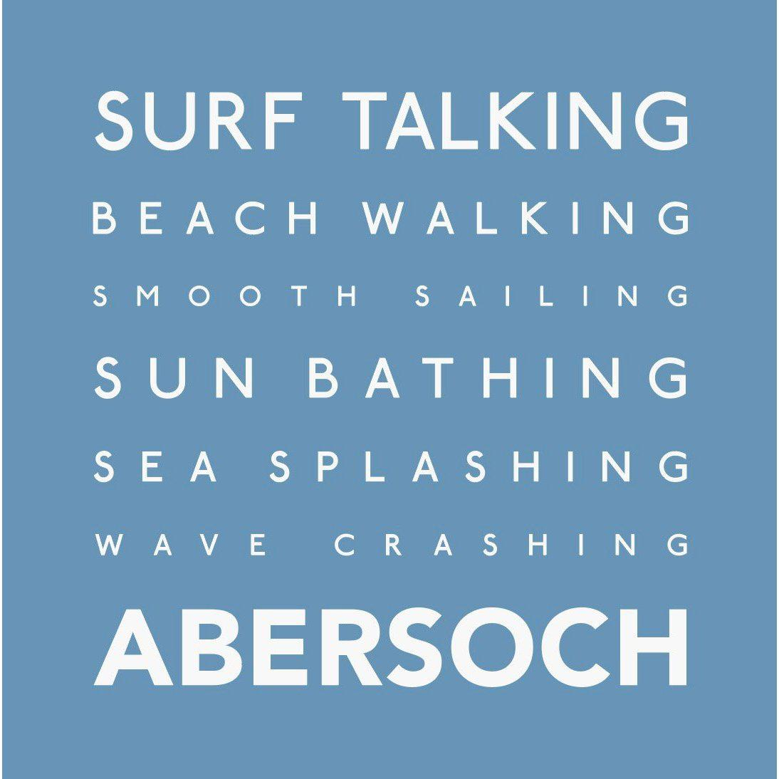 Abersoch - Greeting Card-SeaKisses