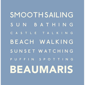 Beaumaris - Greeting Card-SeaKisses