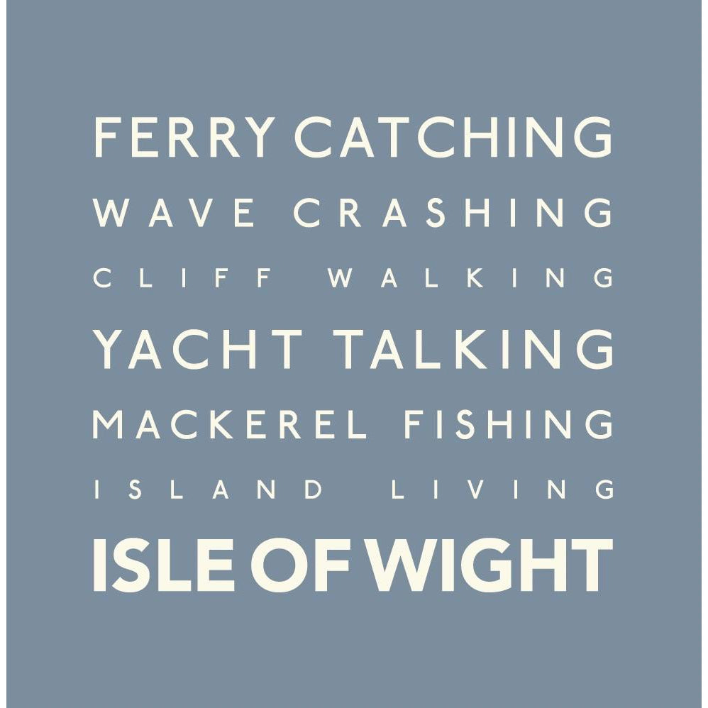 Isle of Wight - Greeting Card-SeaKisses