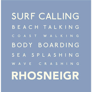 Rhosneigr - Greeting Card-SeaKisses