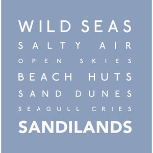 Sandilands - Greeting Card-SeaKisses