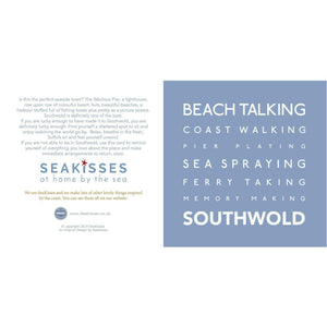 Southwold - Greeting Card-SeaKisses