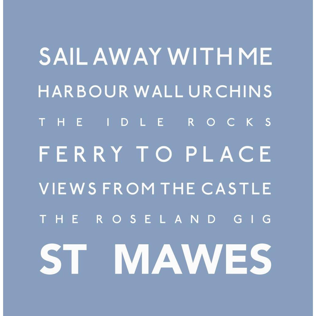 St Mawes - Greeting Card