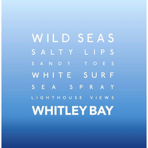 Whitley Bay - Greeting Card-SeaKisses
