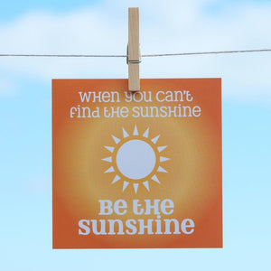 Sunshine - Greeting Card-SeaKisses