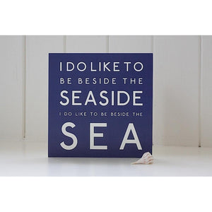 Beside the Sea - Greeting Card-SeaKisses