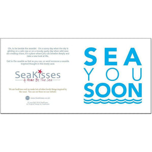 Sea You Soon - Greeting Card-SeaKisses