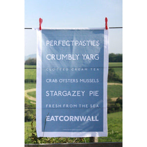 EAT Cornwall - Tea Towel