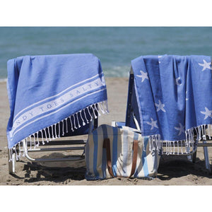Sandy Toes Beach Sheet (Hammam Towel)-SeaKisses