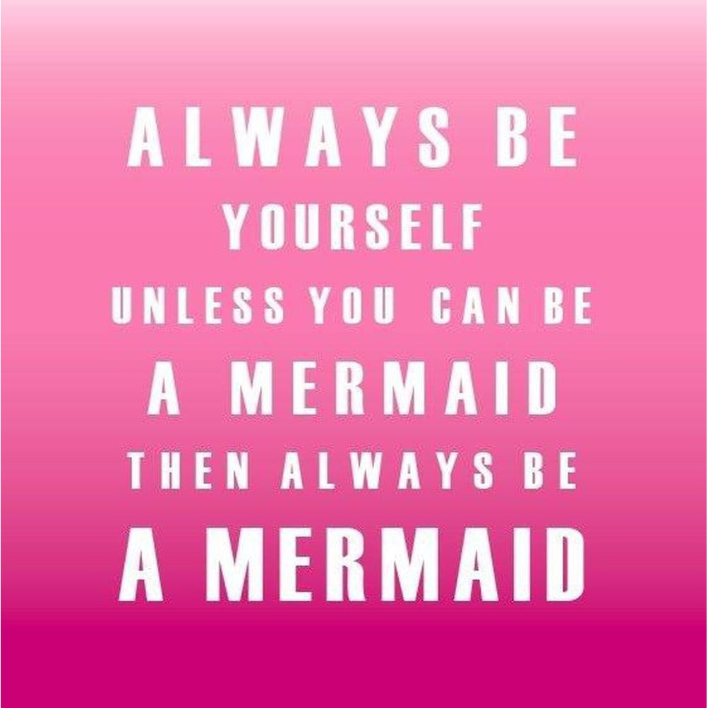 Mermaid - Greeting Card