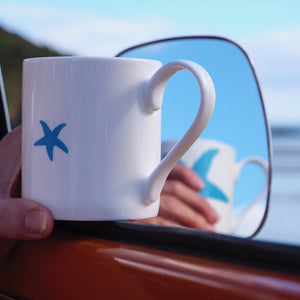 Starfish Mug - Fine Bone China Coastal Design-SeaKisses