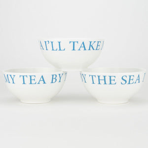 Starfish Nibbles Bowl - Fine Bone China Coastal Design-SeaKisses