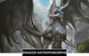 Dragon anthropomorphe / Dragon anthro Dragonys
