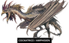 Dragon Cockatrice / Amphisien