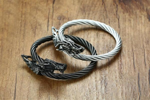 bracelet-torque-viking-dragon