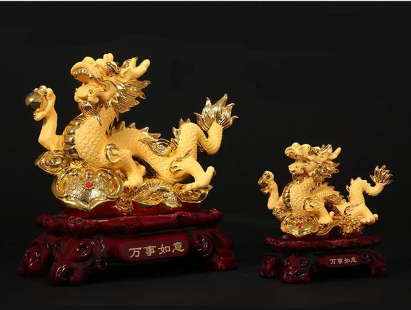 figurine-dragon-or