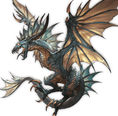 Wyvern-dragon