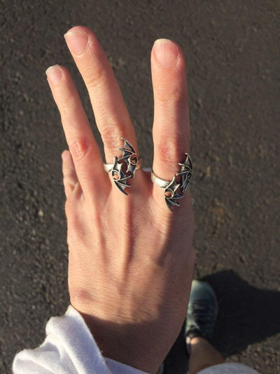 Bague Ailes de Dragon - Dragonys