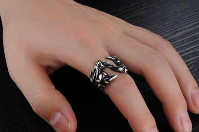 Bague Dragon Claw - Dragonys