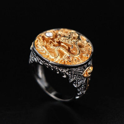 Bague Dragon Saphira - Dragonys