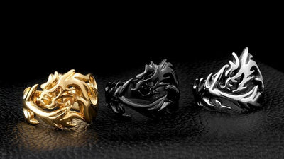 Bague Dragon Tribal - Dragonys