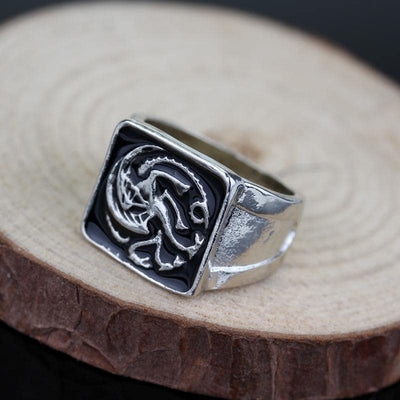Bague Dragon | Maison Targaryen - Dragonys