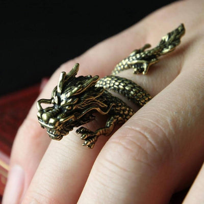 Bague Dragon de Protection - Dragonys
