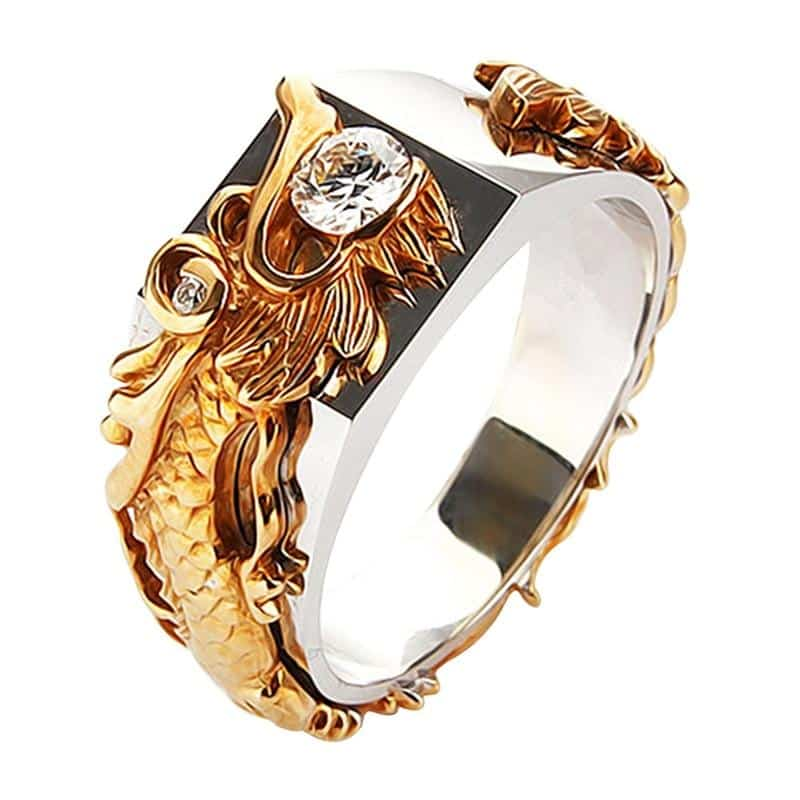 Bague Dragon de Sagesse - Dragonys