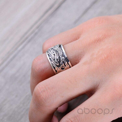 Bague Dragon orientale | Rhaegal - Dragonys