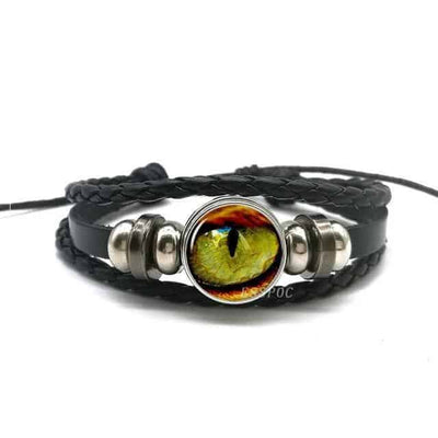 Bracelet Œil de Dragon multicolore - Dragonys